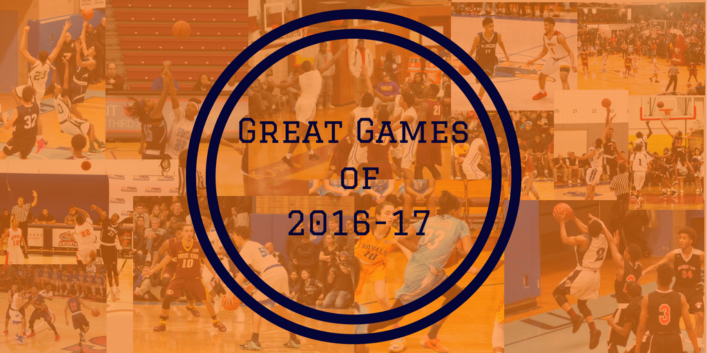 Great games of 2016 17