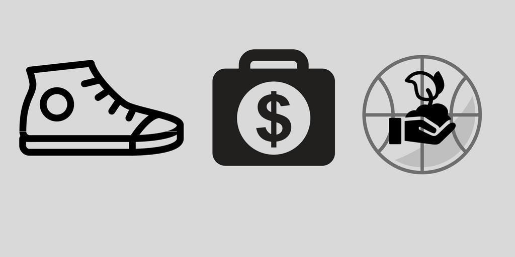 Sneaker money   grassroots basketball